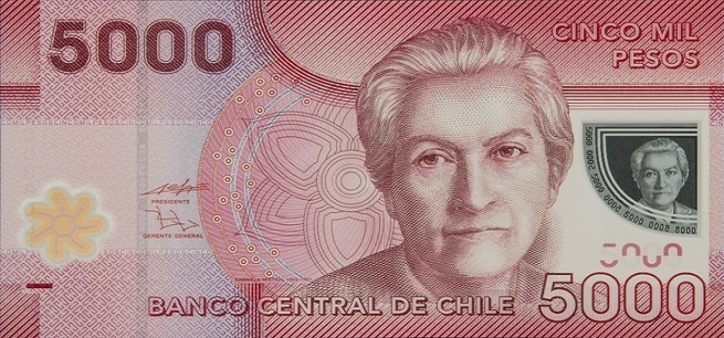 billete 5000 anverso